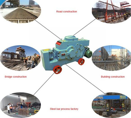 Application areas of rebar cutter